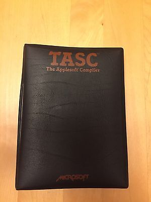 Extremely rare Microsoft TASC for the Apple II - The Applesoft Compiler