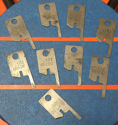 Eubanks .102 Guide Wire Stripping Blade Set 2600 blades 00156 Cut AWG gauge lot