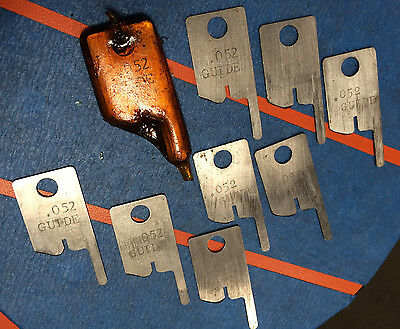 Eubanks .052 Guide Wire Stripping Blade Set 2600 blades 00156 Cut AWG gauge lot