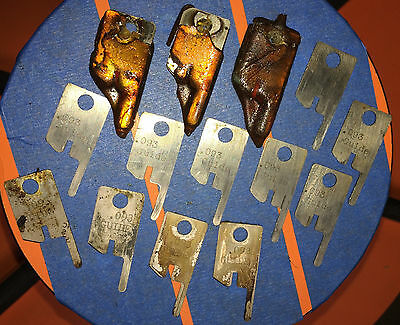 Eubanks .093 Guide Wire Stripping Blade Set 2600 blades 00156 Cut AWG gauge lot