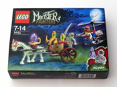 9462 LEGO Monster Fighters The Mummy *Damaged* Boxed Set BNIB 2 Minifigs + Horse