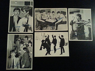 1964 Topps BEATLES SERIES 1 and 2 - Lot of 5 - #'s 41,44,48,67,113 VG