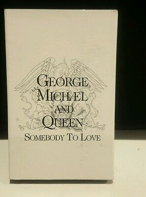 George Michael + Queen Rare Cassingle Somebody To Love Cassette  Single