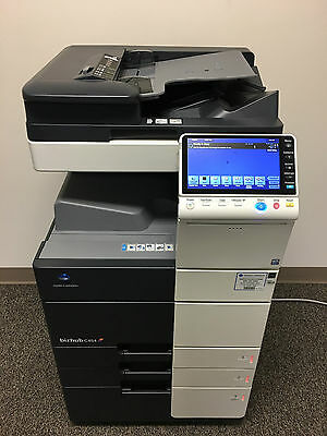 Konica Minolta Bizhub C454 Copier Printer Scanner LOW 266k total page count