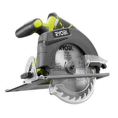Ryobi ONE+ 18-Volt 6-1/2 in. Cordless Circular Saw (Tool Only) P507
