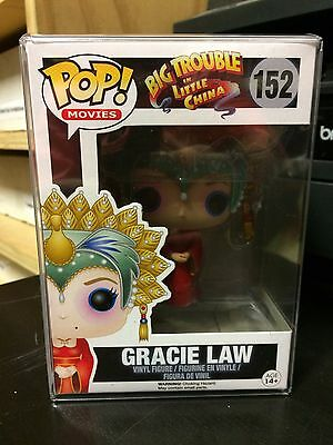 BIG TROUBLE IN LITTLE CHINA GRACIE LAW FUNKO POP VAULTED w/FREE PROTECTOR