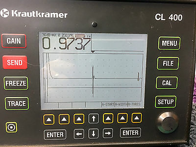 Krautkramer CL400 Precision Thickness Gauge