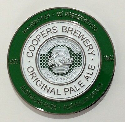 Coopers Brewery Original Pale Ale Tap Decal,coopers Brewery Original Tap Decal