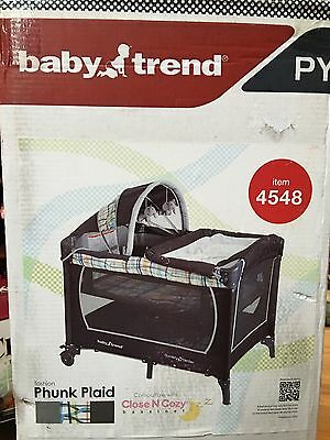 Baby Trend Pack And Play Serene Pack And Play Bassinet Playyard New