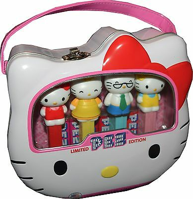 Hello Kitty Limited Edition PEZ Lunch Box Set BRAND NEW