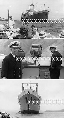 5x 1956 and 1958 RMS ORONSAY Photos with info & dates POSTAGE DISCOUNT