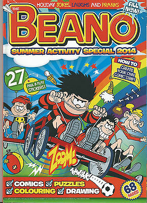 Dandy Summer 2015 & Beano Summer Special 2014 # Both 68 Pages #  Softback #