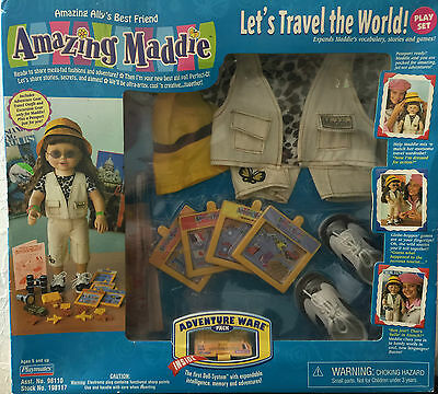 """Amazing Alley Interactive Play Set-""""let's Travel The World""""-Shelf Wear-Dents-New"""
