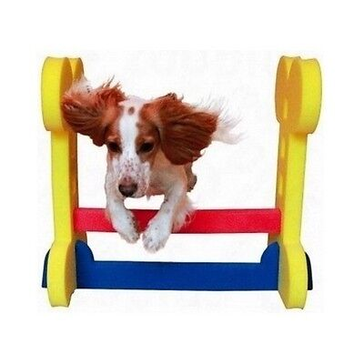 Dog Agility Equipment Hurdle Training Obstacle Course Garden Obedience Fitness