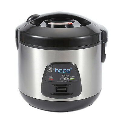 Rice Cooker 3L 500W Steam Cooker Stainless Steel Electric Multi Cookers