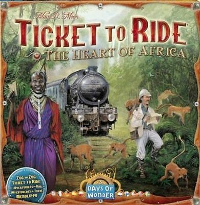 Ticket to Ride Africa Expansion | Days of Wonder - Board Game New
