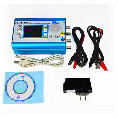 LCD Display Dual Channel Function/Arbitrary Waveform Generator USB 0~6MHz