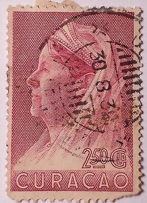 Curacao   Scott#143  Used Stamp ......worldwide Stamps