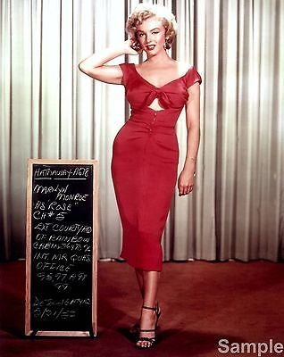 Marilyn Monroe Film Actress Glossy Colour Photo Picture Print A4