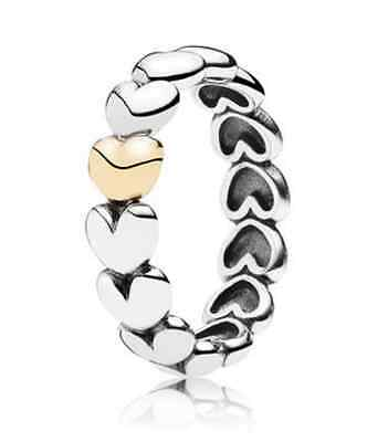 Authentic Pandora Heart Ring (stacking-ring)