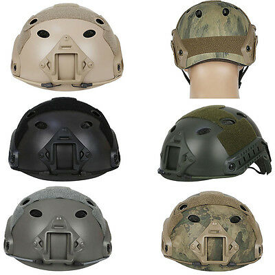 Fast PJ Type Tactical Helmet Military Airsoft Painball Hunting Army Multicam AU