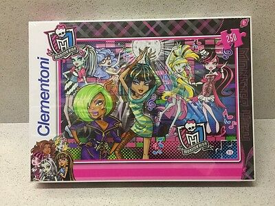 Puzzle Collection Clementoni Monster Hught 250 Pieces Neuf Sous Emballage