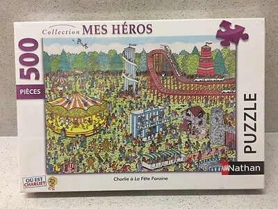 Puzzle Collection Mes Heros Charlie A La Fete 500 Pieces Neuf Sous Emballage
