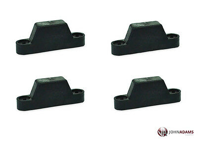 4 x Rubber Top Hat Buffer Door Bump Stop Trailer Truck Horsebox Tailboard Lift