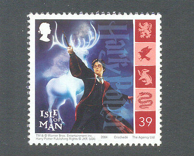 Harry Potter-Isle of Man postage stamp mnh