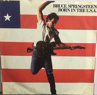 """Bruce Springsteen 7"""" 'born In The Usa'  (Columbia)"""