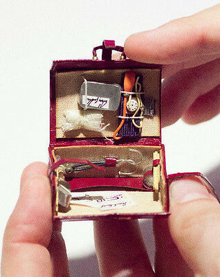 Dollhouse Miniature Artisan Doctor´s Case 1:12 Signed