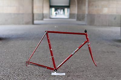 Kotter Columbus frame & chrome fork 56 cm Rahmen Gabel dark grey chromovelato