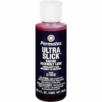 Permatex 81950 Ultra Slick Engine Assembly Lube Engine bearings, cams oil 118ml
