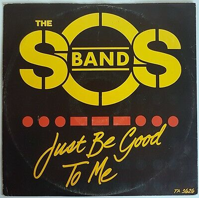 "The SOS Band 'Just Be Good To Me' 12"" Vinyl Single"