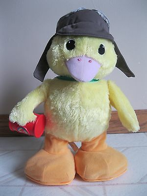 Wonder Pets Ming Ming Duck Plush Toy Talking Dancing Singing Mattel