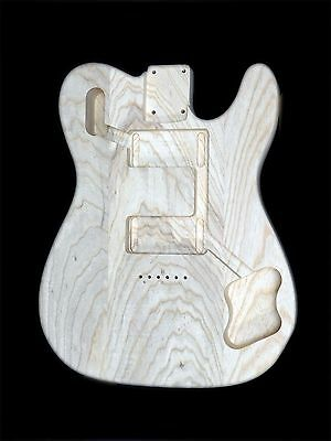 Telecaster Guitar Deluxe72 Body / Swamp ash / 3 piece /1.79kg / 003368