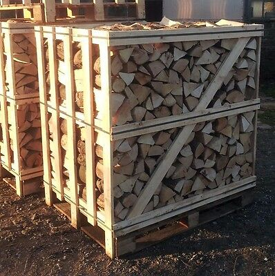 Large crate of kiln dried firewood logs - national delivery