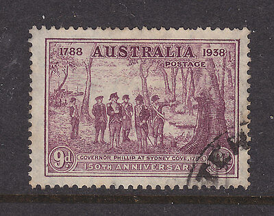 9d  150TH ANNIV OF NSW   F.USED STAMP..