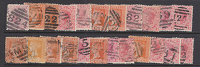 Postmarks: Small Group Of Barred Numerals... ... .