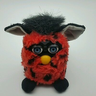 Fun Red and Black FURBY original electronic Talking Pet 1999 Tiger Electronic