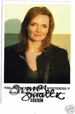 Sharon Small Actress Inspector Linley Downton  Hand  Signed Photograph 6 x 4