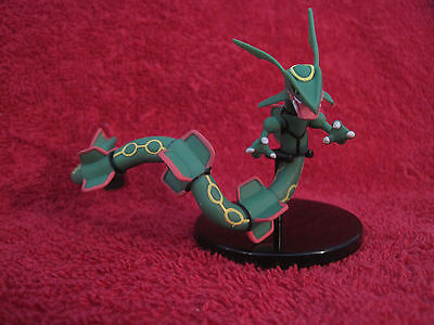 1 Pokemon Figur:Rayquaza/8 cm,Legendary Characters Edition/Yujin/Tomy,gebraucht