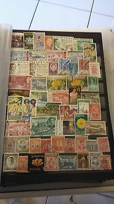 55 timbres Philippines (lot 6)