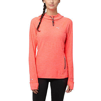 Puma Warm Cell Womens Ladies Light Thermal Hoody Hooded Top 8 10 12 14 16