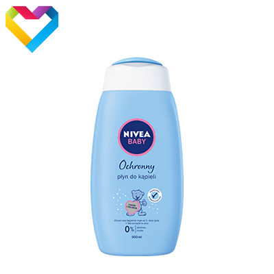 NIVEA BABY GENTLE HYPOALLERGENIC BATH LIQUID FOR BABIES 500ml 86262