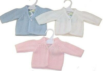 baby low weight-premature cardigan