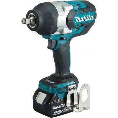 Makita DTW1002RTJ 18v 1/2 Impact Wrench 2 x 5.0amp Batteries Charger Makpac Case