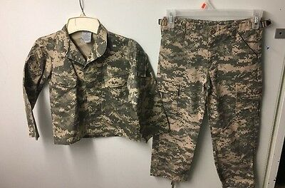 Army Outfit Camo Trooper Youth Size 6