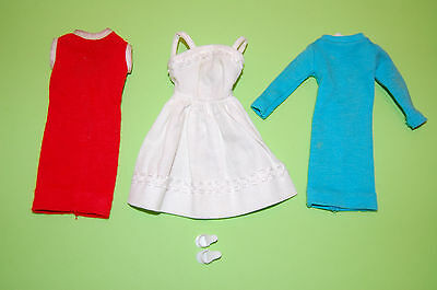 "Tressy Barbie Vintage LOT dresses  ""SUMMER HOLIDAY"" American Character 1960's."