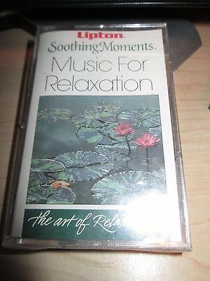 Collectible Sealed 1991 Lipton Tea Soothing Moments Relaxation Music *cassette